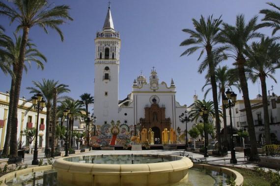 Ла Пальма, Plaza de Espana